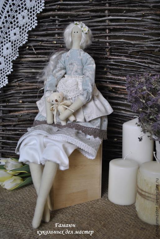 Куклы Тильды ручной работы. Ярмарка Мастеров - ручная работа. Купить Кукла тильда Моника. Интерьерная текстильная кукла в стиле Тильда. Handmade.