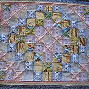 Для дома и интерьера ручной работы. Ярмарка Мастеров - ручная работа Лоскутное детское одеяло Розовый зефир. Handmade.