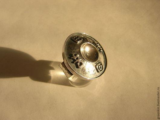 """Кольца ручной работы. Ярмарка Мастеров - ручная работа. Купить Кольцо """"Древняя китайская монета"""". Handmade. Серебряный, подарок"""
