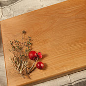 handmade. Livemaster - original item Cutting Board made of beech wood. Handmade.