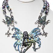 """Винтаж ручной работы. Ярмарка Мастеров - ручная работа Ожерелье """"Spiderella"""" от Kirks Folly. Handmade."""