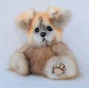 Куклы и игрушки handmade. Livemaster - original item Puppy from marten`s fur. Handmade.