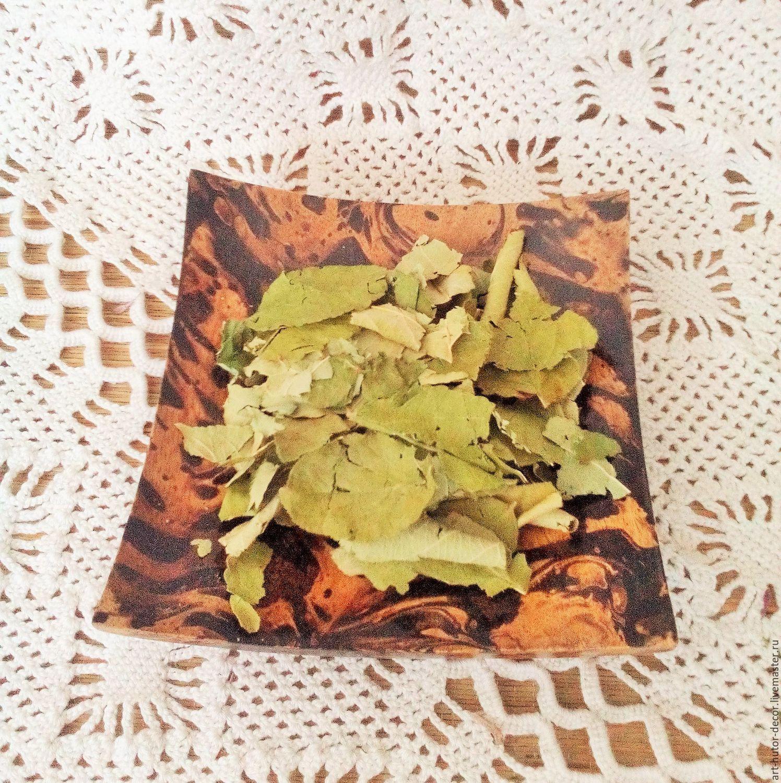 Лист яблони для чая