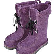 Обувь ручной работы handmade. Livemaster - original item Copy of Copy of Copy of Felt boots. Handmade.