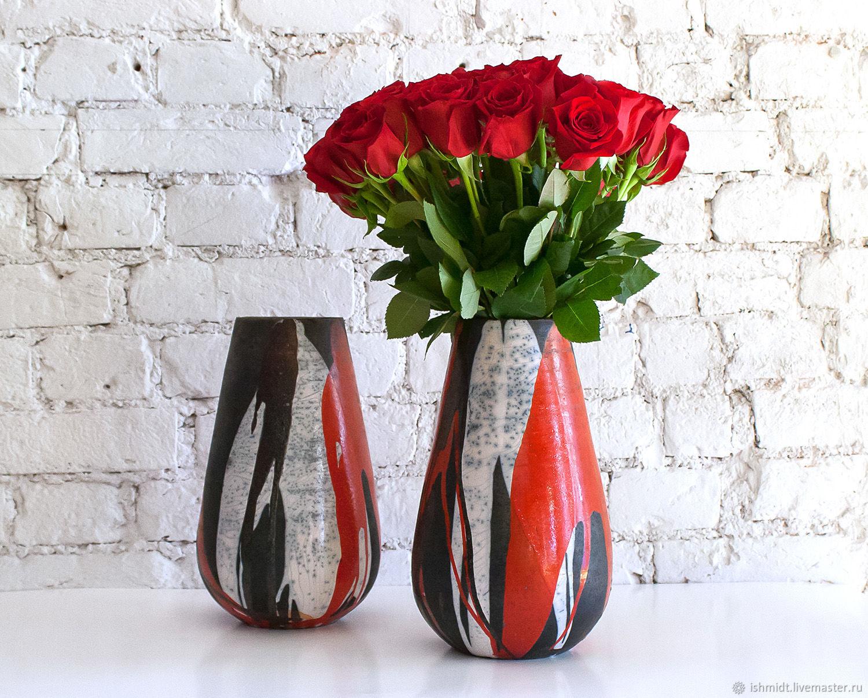 Большие высокие вазы, Вазы, Санкт-Петербург,  Фото №1