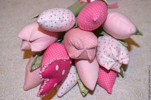 Цветы ручной работы. Ярмарка Мастеров - ручная работа. Купить Букет весенних цветов. Handmade. Букет цветов
