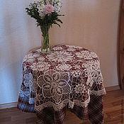 Для дома и интерьера ручной работы. Ярмарка Мастеров - ручная работа Скатерть № 7. Handmade.