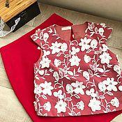 Одежда ручной работы. Ярмарка Мастеров - ручная работа Кружевной топ и юбка карандаш. Handmade.