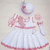 """Работы для детей, ручной работы. Ярмарка Мастеров - ручная работа Платье """"Принцесса"""" с аксессуарами. Handmade."""