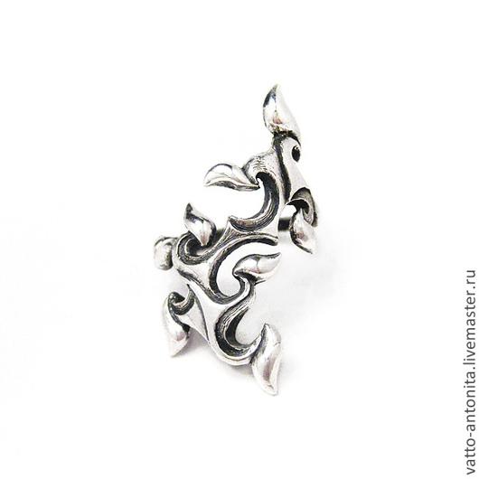 Кольца ручной работы. Ярмарка Мастеров - ручная работа. Купить Зимний узор - кольцо из серебра. Handmade. Необычное кольцо