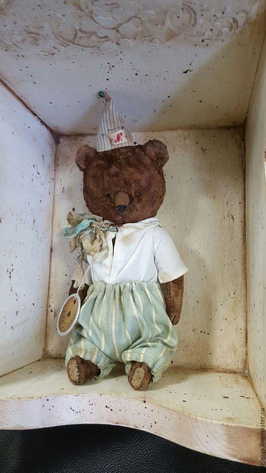 Мишки Тедди ручной работы. Ярмарка Мастеров - ручная работа. Купить Миша. Handmade. Коричневый, тедди мишка