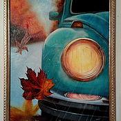 Картины и панно handmade. Livemaster - original item Autumn. Kafer.  Oil painting 30/40 cm. Handmade.