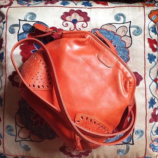 Женские сумки ручной работы. Ярмарка Мастеров - ручная работа. Купить Raindrop+. Маленькая винтажная сумочка . (5). Handmade. Рыжий