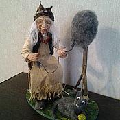 "Куклы и пупсы ручной работы. Ярмарка Мастеров - ручная работа Баба Яга ,,Прядильщица"". Handmade."