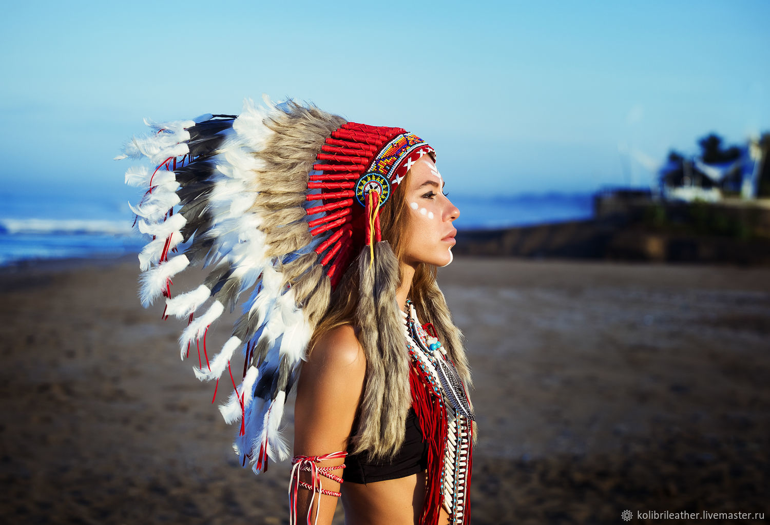 New Year 2019 handmade. Livemaster - handmade. Buy Indian hat with  feathers. Indian ... a22b0b94f5a