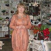 Одежда ручной работы. Ярмарка Мастеров - ручная работа Платье из шерсти Тюльпан. Handmade.