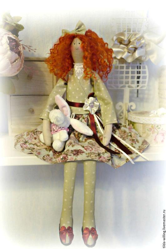 Куклы Тильды ручной работы. Ярмарка Мастеров - ручная работа. Купить Кукла Тильда Шурочка. Handmade. Рыжий
