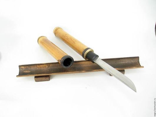 """Оружие ручной работы. Ярмарка Мастеров - ручная работа. Купить """"Лист бамбука"""" интерьерное украшение. Handmade. Нож, самооборона"""