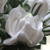 Цветы и флористика ручной работы. Ярмарка Мастеров - ручная работа Белые розы, белые розы.... Handmade.