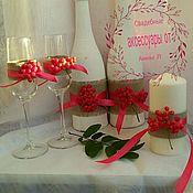 Свадебный салон ручной работы. Ярмарка Мастеров - ручная работа Осенняя свадьба. Рябина. Handmade.