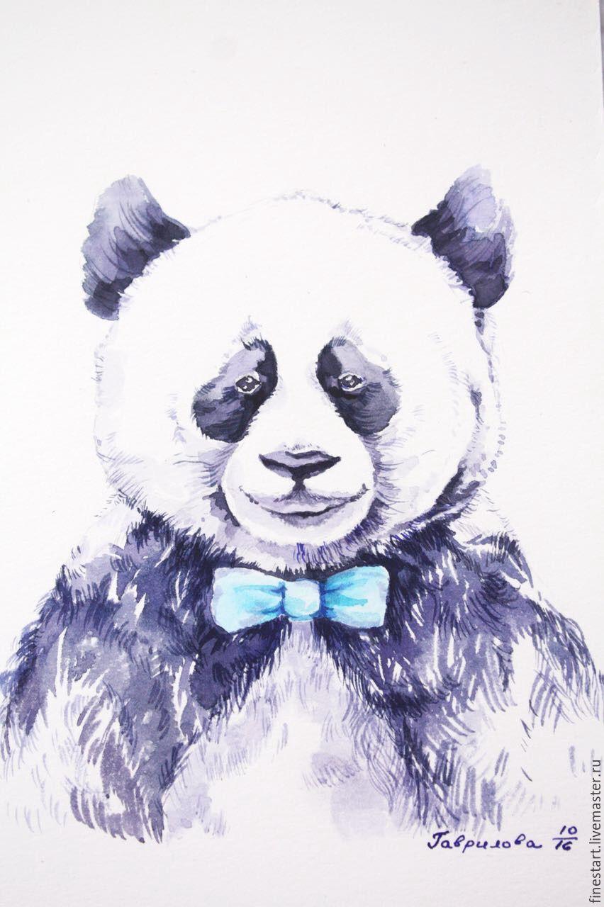 схема вязания детской кофты мишка панда