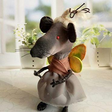 Сувениры и подарки ручной работы. Ярмарка Мастеров - ручная работа Мышка. Handmade.