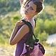 Женские сумки ручной работы. Арт-сумка Ирис. Надин (van161982). Ярмарка Мастеров. Валяная сумка, сумка на каждый день