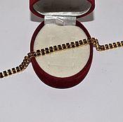 Винтаж handmade. Livemaster - original item Vintage bracelet ruby glass Czech jewelry. Handmade.
