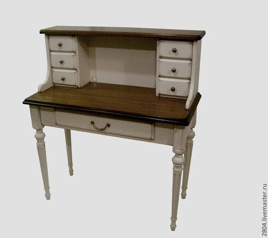 """Мебель ручной работы. Ярмарка Мастеров - ручная работа. Купить Секретер № 06 """"Кремовый"""" Письменный стол из дерева. Handmade."""