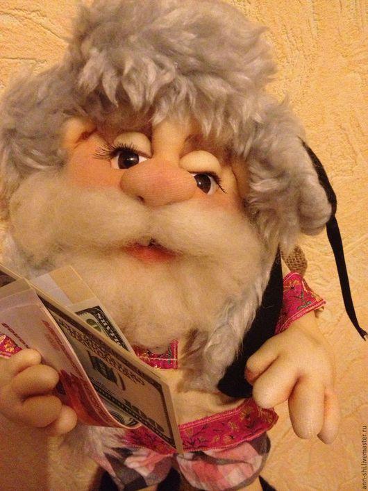 Коллекционные куклы ручной работы. Ярмарка Мастеров - ручная работа. Купить Домовой. Handmade. Разноцветный, домовой