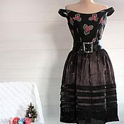 Одежда ручной работы. Ярмарка Мастеров - ручная работа Платье коктейльное Сюжет 1852. Handmade.