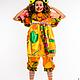 Карнавальные костюмы ручной работы. костюм клоуна,клоунессы. наталья (ppoprct). Ярмарка Мастеров. Клоун, креп-сатин