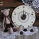 """Часы для дома ручной работы. Ярмарка Мастеров - ручная работа. Купить Часы """"Моя сладость"""". Handmade. Часы настенные, сладости"""