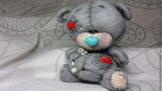 """Игрушки животные, ручной работы. Ярмарка Мастеров - ручная работа. Купить Мишка """"Me to You"""" от Ю.Бисерной. Handmade."""