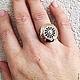 Кольца ручной работы. Кольцо  золотое ОБЕРЕГ СОЛНЦЕ с камнями. rvc71 (service-jеweller). Ярмарка Мастеров. Оберег в подарок, рубин
