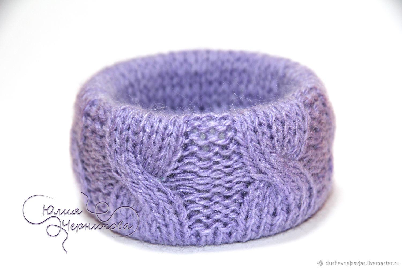 Вязаный браслет – купить в интернет-магазине на Ярмарке ...