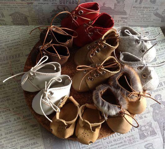 Одежда для кукол ручной работы. Ярмарка Мастеров - ручная работа. Купить Осенняя коллекция обуви). Handmade. Комбинированный, кукольная обувь