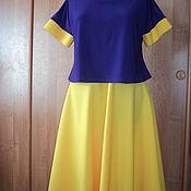 Одежда ручной работы. Ярмарка Мастеров - ручная работа Платье -костюм. Handmade.