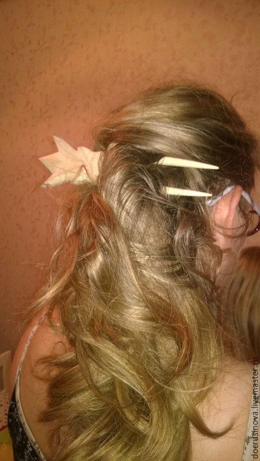 Заколки ручной работы. Ярмарка Мастеров - ручная работа. Купить Корона-заколка для волос. Handmade. Деревянные заготовки, дерево
