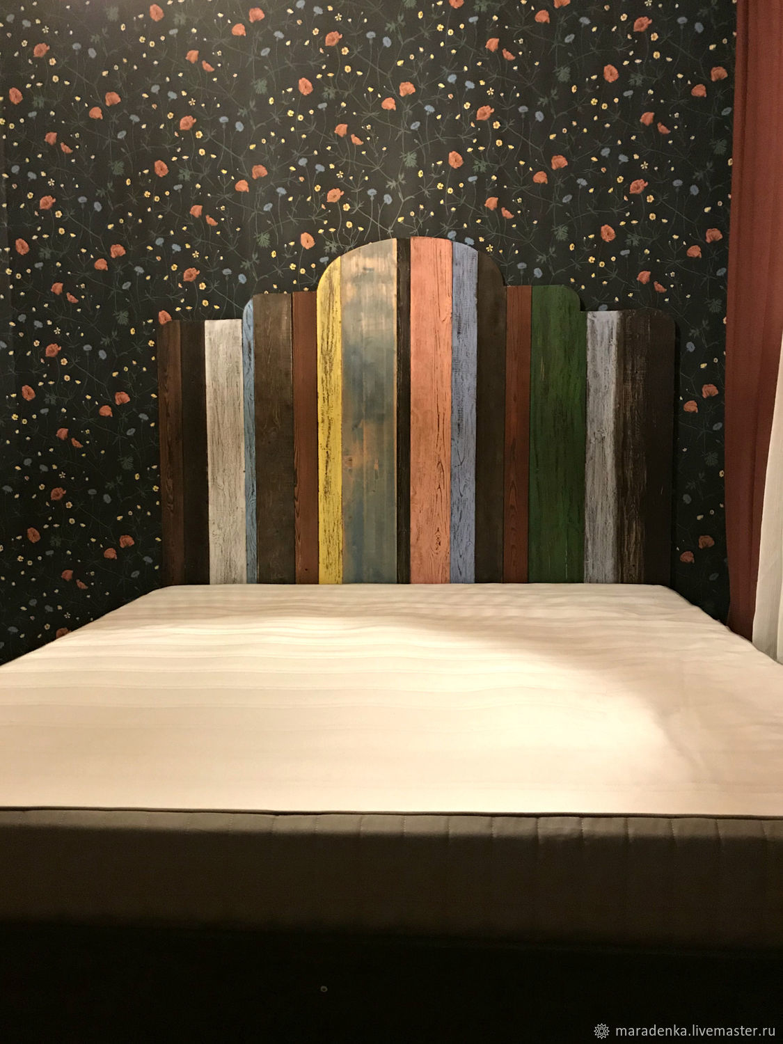 Bed Loft. double bed. The bed is wooden, Bed, Moscow,  Фото №1