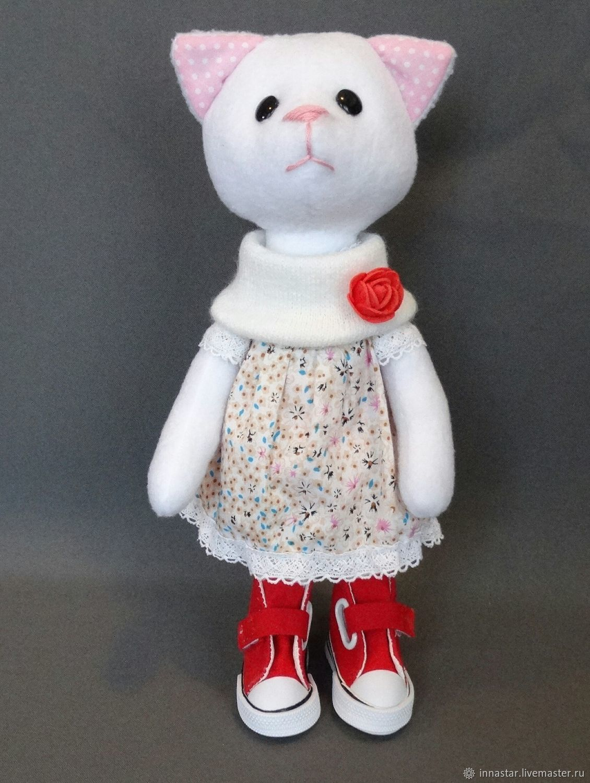Кошка текстильная, Мягкие игрушки, Красноуфимск,  Фото №1