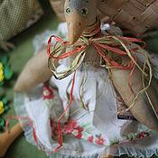 Куклы и игрушки ручной работы. Ярмарка Мастеров - ручная работа гусыня Глаша. Handmade.