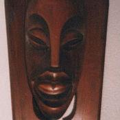 Для дома и интерьера handmade. Livemaster - original item The interior of the African mask hand carved wood. Handmade.