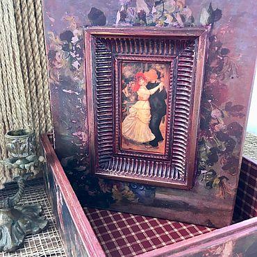 Для дома и интерьера ручной работы. Ярмарка Мастеров - ручная работа Шкатулка «Ренуар». Handmade.