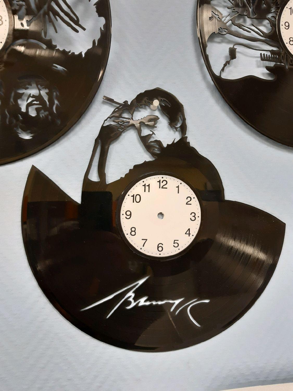 Часы из виниловой пластинки Высоцкий, Часы классические, Междуреченск,  Фото №1