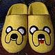 """Обувь ручной работы. Ярмарка Мастеров - ручная работа. Купить домашние валяные тапочки-шлепки из натуральной шерсти """"Собака Джейк"""". Handmade."""