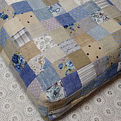 Сувениры и подарки handmade. Livemaster - original item Gift bag made of linen and cotton scraps. Handmade.