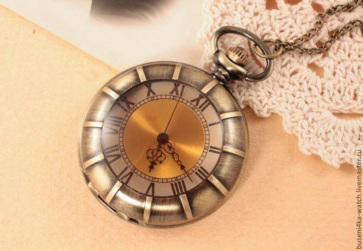 Для украшений ручной работы. Ярмарка Мастеров - ручная работа. Купить Часы-подвеска №24 Солнце. Handmade. Часы в подарок