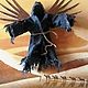Copyright 3D picture of the Black angel of the desert. Pictures. Vladimir Tarasov. Online shopping on My Livemaster.  Фото №2
