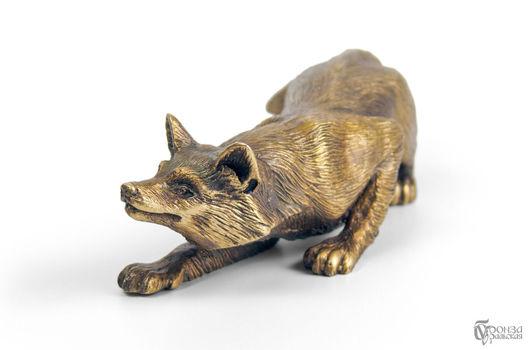 Статуэтки ручной работы. Ярмарка Мастеров - ручная работа. Купить Лисица. Handmade. Лиса, лиса в лесу, лисичка, лисий, статуэтки